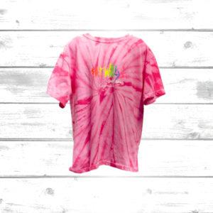Fat Willys Tie-dye Tee pink