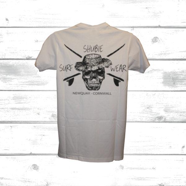 Shubie White Skull T-Shirt