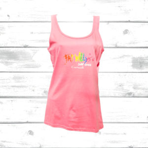 Fat Willys Ladies Pink Vest