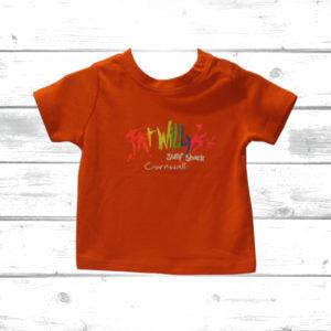 Fat Willys Toddler T Shirt Orange