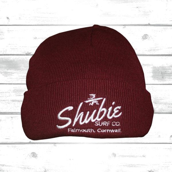 Shubie Beanie Hat Burgundy