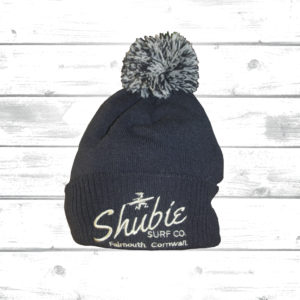 Shubie Bobble Hat Navy