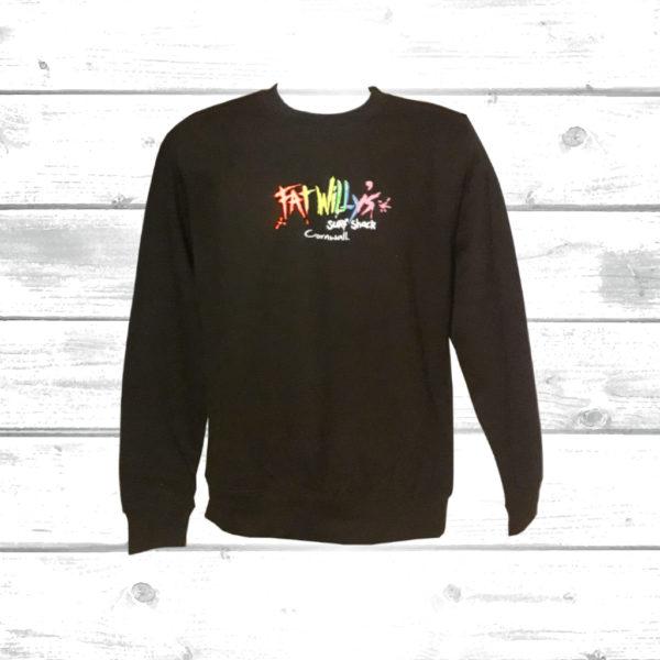 Fat Willys Adult Sweatshirt Black